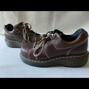 Dr Martens leather shoe in size 7